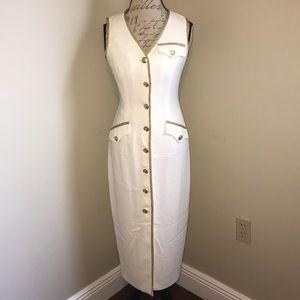 EUC 💛 KENAR DRESS | White Long Dress